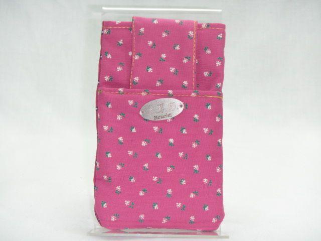 Handy-Tasche rosa mit Blümchen
