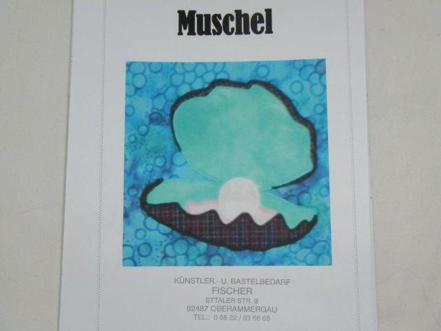 """Patchworkanleitung """"Muschel"""""""