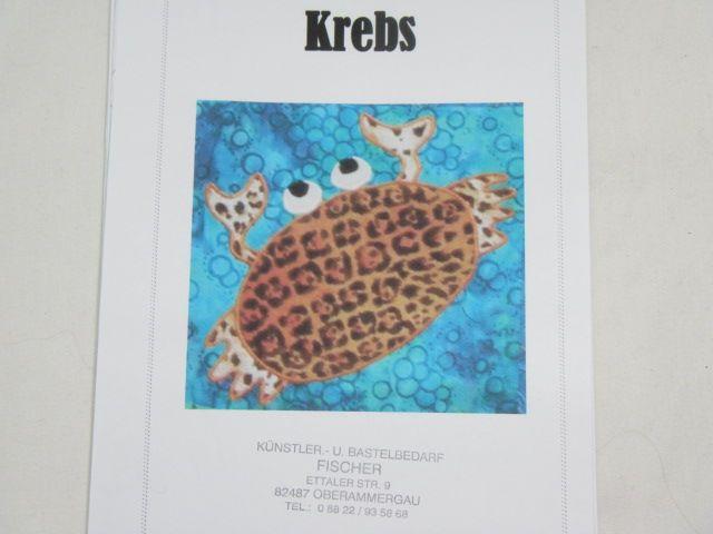 """Patchworkanleitung """"Krebs"""""""