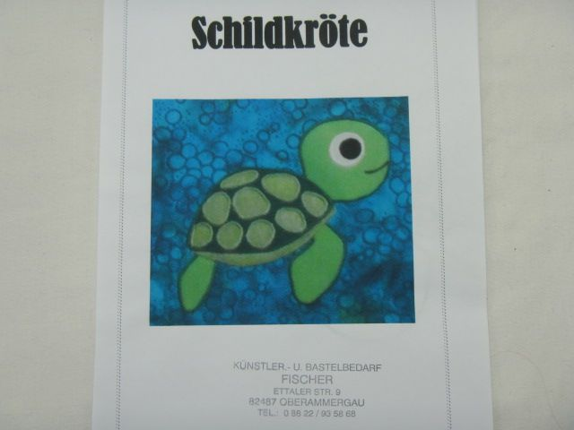 "Patchworkanleitung ""Schildkröte"""