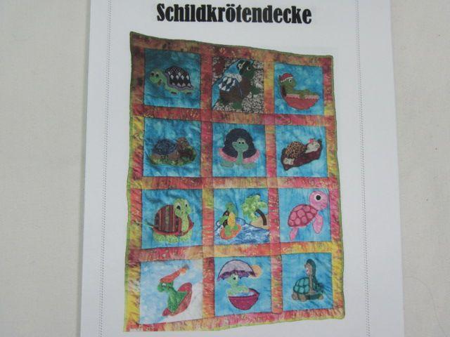 """Patchworkanleitung """"Schildkrötendecke"""""""