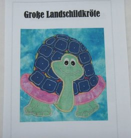 """Anleitung """"Große Landschildkröte"""""""