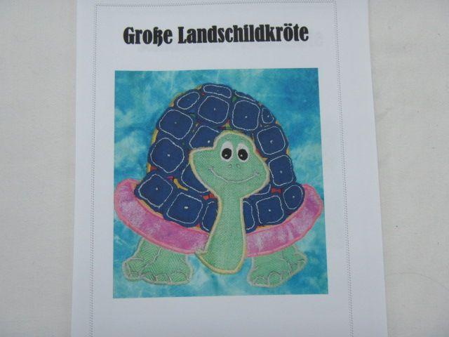"""Patchworkanleitung """"Große Landschildkröte"""""""