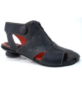 Lisa Tucci Sandale 1239-1030 schwarz mit Zip