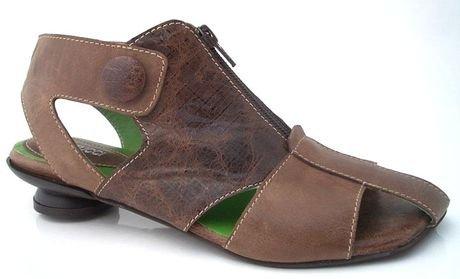 Lisa Tucci Lisa Tucci 1239-1838 Sandale braun mit Zip