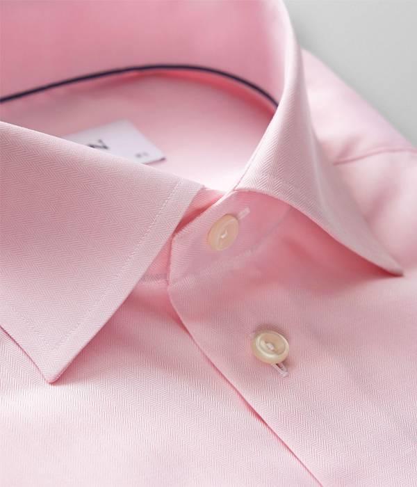 Eton dress-shirt rose slimfit