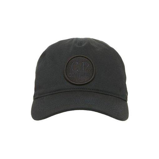 CP Company Cotton Gabardine Goggle Logo Cap