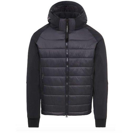 CP Company Soft Shell Mixed Goggle Full Zip Jacket