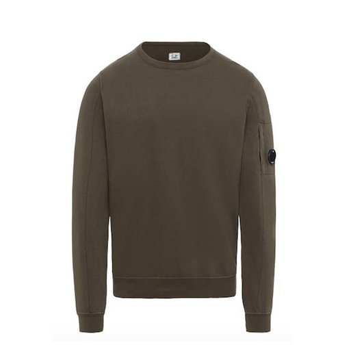 CP Company Gd Lens Light Fleece Crew Sweatshirt