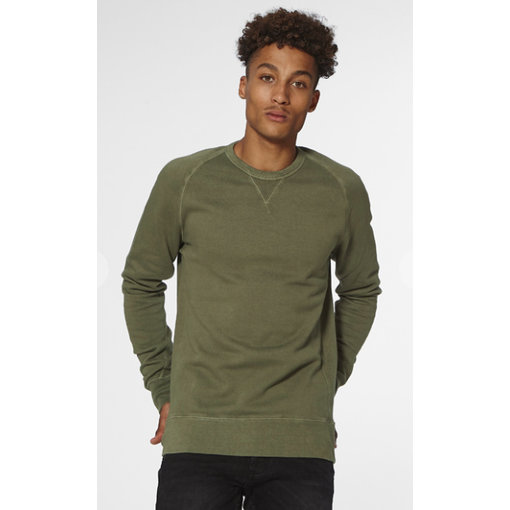 Denham sweater green