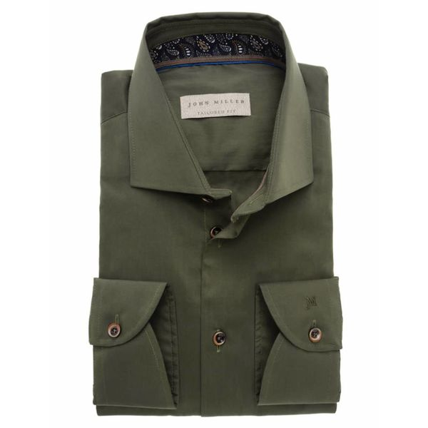 leger groen dress-shirt