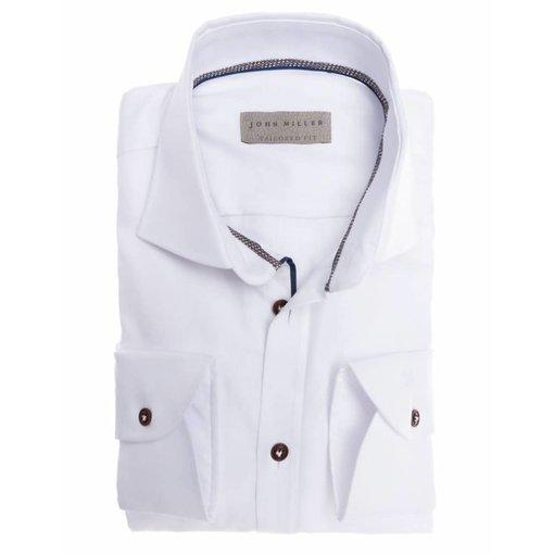 John Miller wit dress-shirt