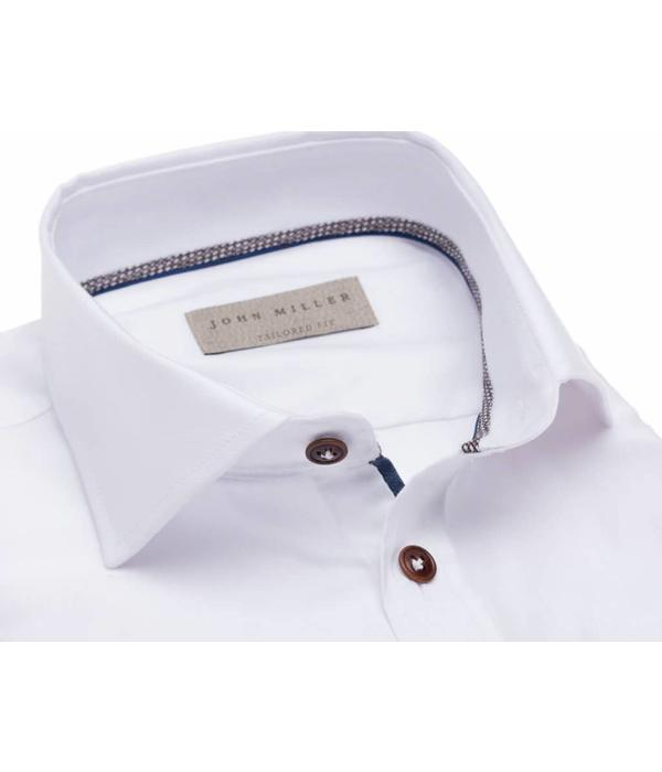 John Miller  dress-shirt wit tf