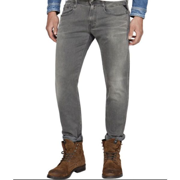 jeans hyperflex l. grijs