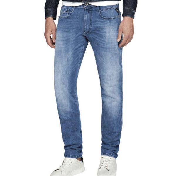 jeans  hyperflex mid. blue