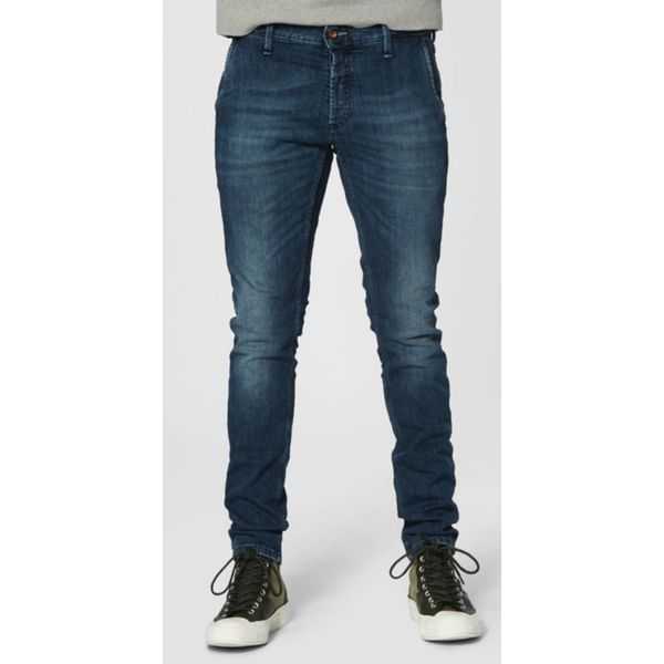 jeans mid. blue chino