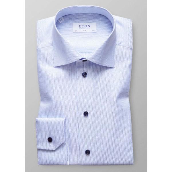 l. blauw dress shirt