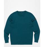 Denham sweater petrol