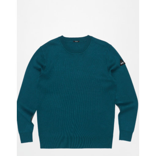 Denham sweater petrol