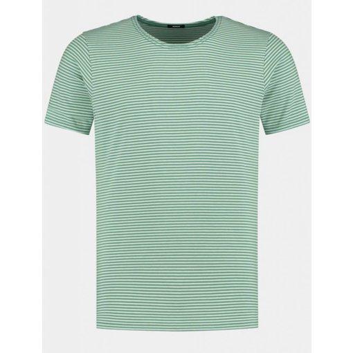Denham t-shirt streep groen