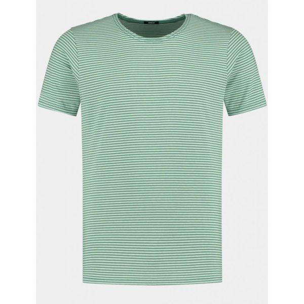 t-shirt streep groen