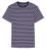 Lyle & Scott  ts508v breton stripe t-shirt