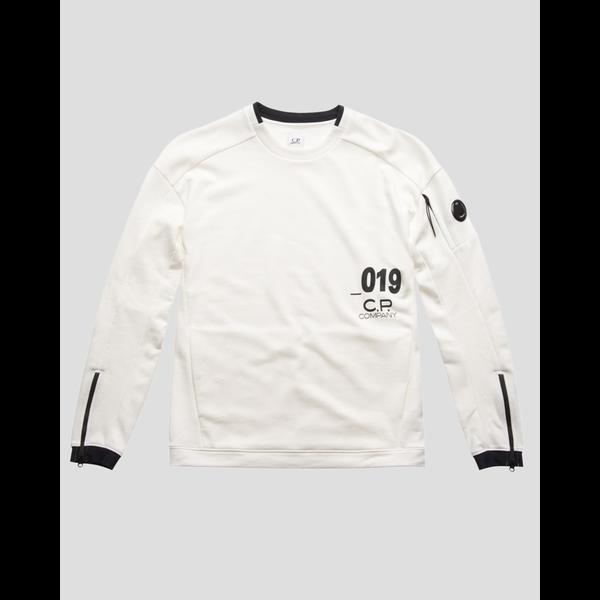 lens crew sweatshirt white