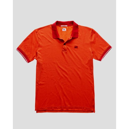CP Company polo-shirt red