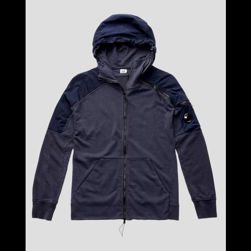 CP Company fleece hooded navy