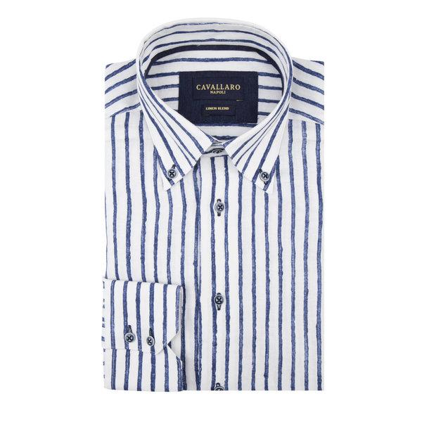 dress shirt streep lino