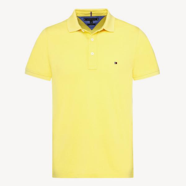 heather slim polo-shirt