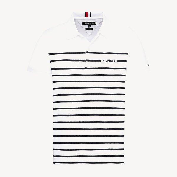breton stripe polo-shirt