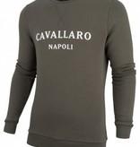 Cavallaro Napoli cn sweater morki 1891002