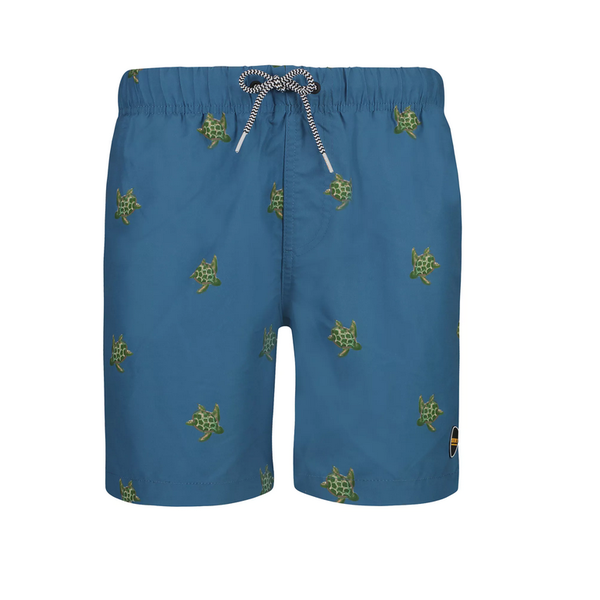 petrol turtle swimshort