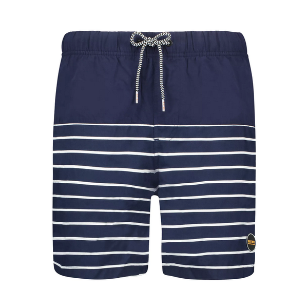 placed stripe swimshort