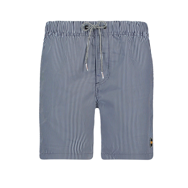 skinny stripe swimshort