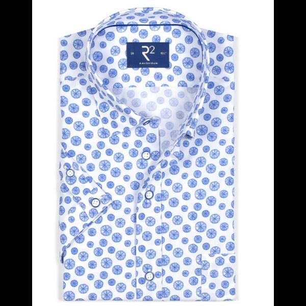 dress shirt blue citroen lm