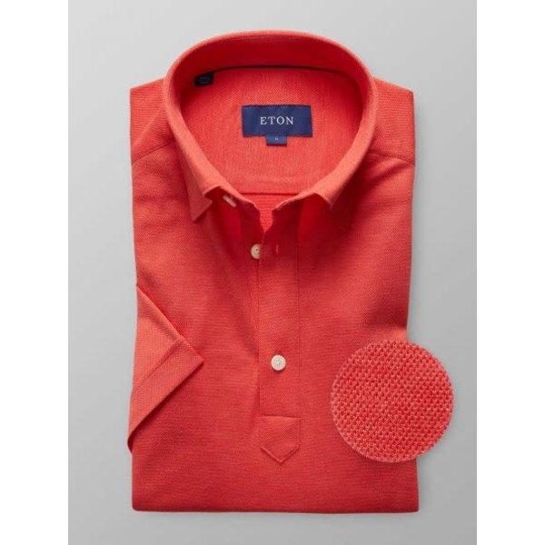 tricot polo shirt slimfit,  div. kleuren