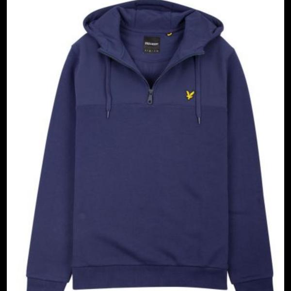 softshell jersey 1/4 zip hoodie