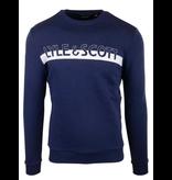 Lyle & Scott l&s ml1111v logo crew neck sweatshirt