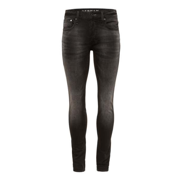 jeans  black bolt