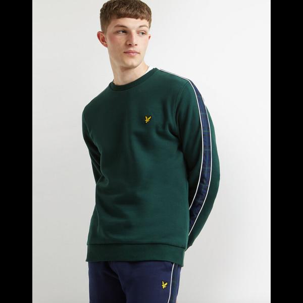 taped sweatshirt, 2 kleuren