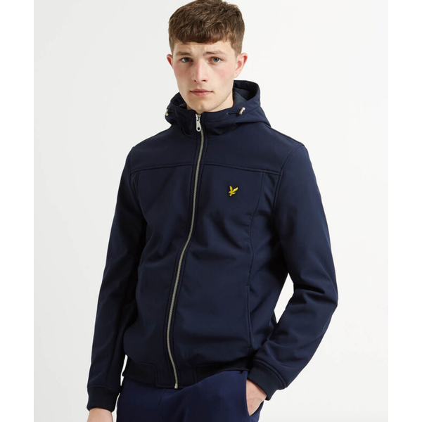 softshell jacket d. blauw