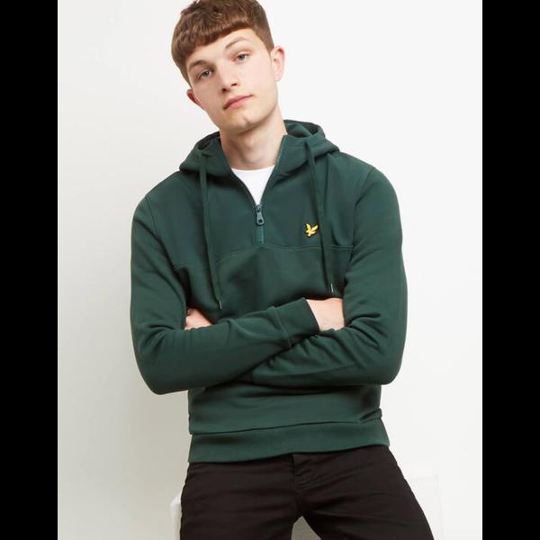 softshell 1/4 zip hoodie, 2 kleuren