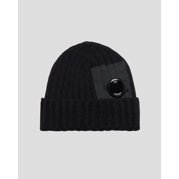 knit cap zwart