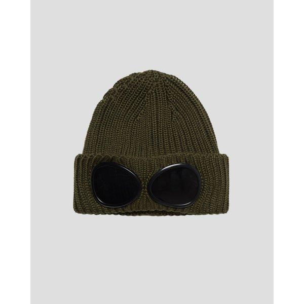 merino wol knit cap, 2 kleuren