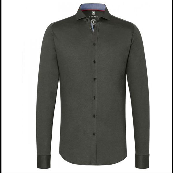 stretch shirt groen