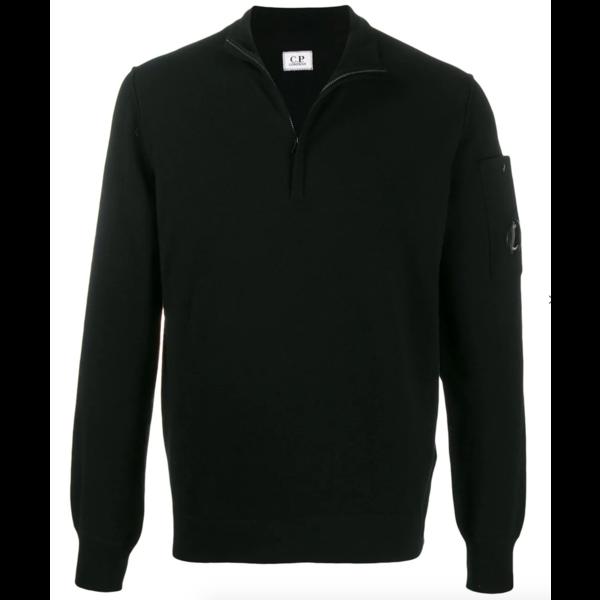 merino trui zwart