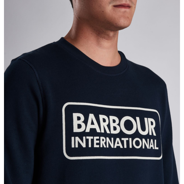 International logo sweater