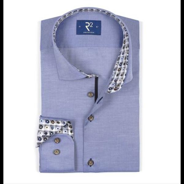 R2 dress-shirt blauw